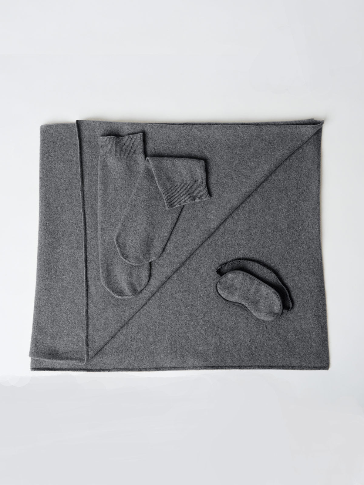 Cloud Nine Cashmere Cuddle Set | Charcoal