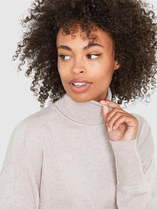 Eileen Turtleneck Relaxed-Fit Sweater | Marcona