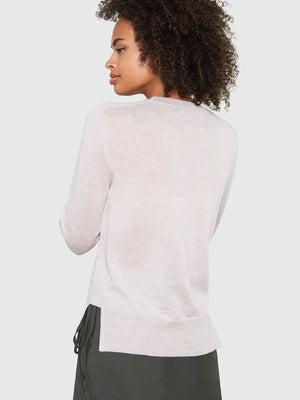 Ellen Notched Neckband Sweater | Marcona Ellen Notched Neckband Sweater | Marcona
