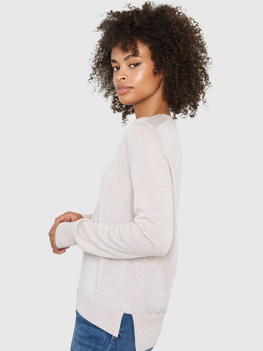 Emma V-Neck Sweater | Marcona