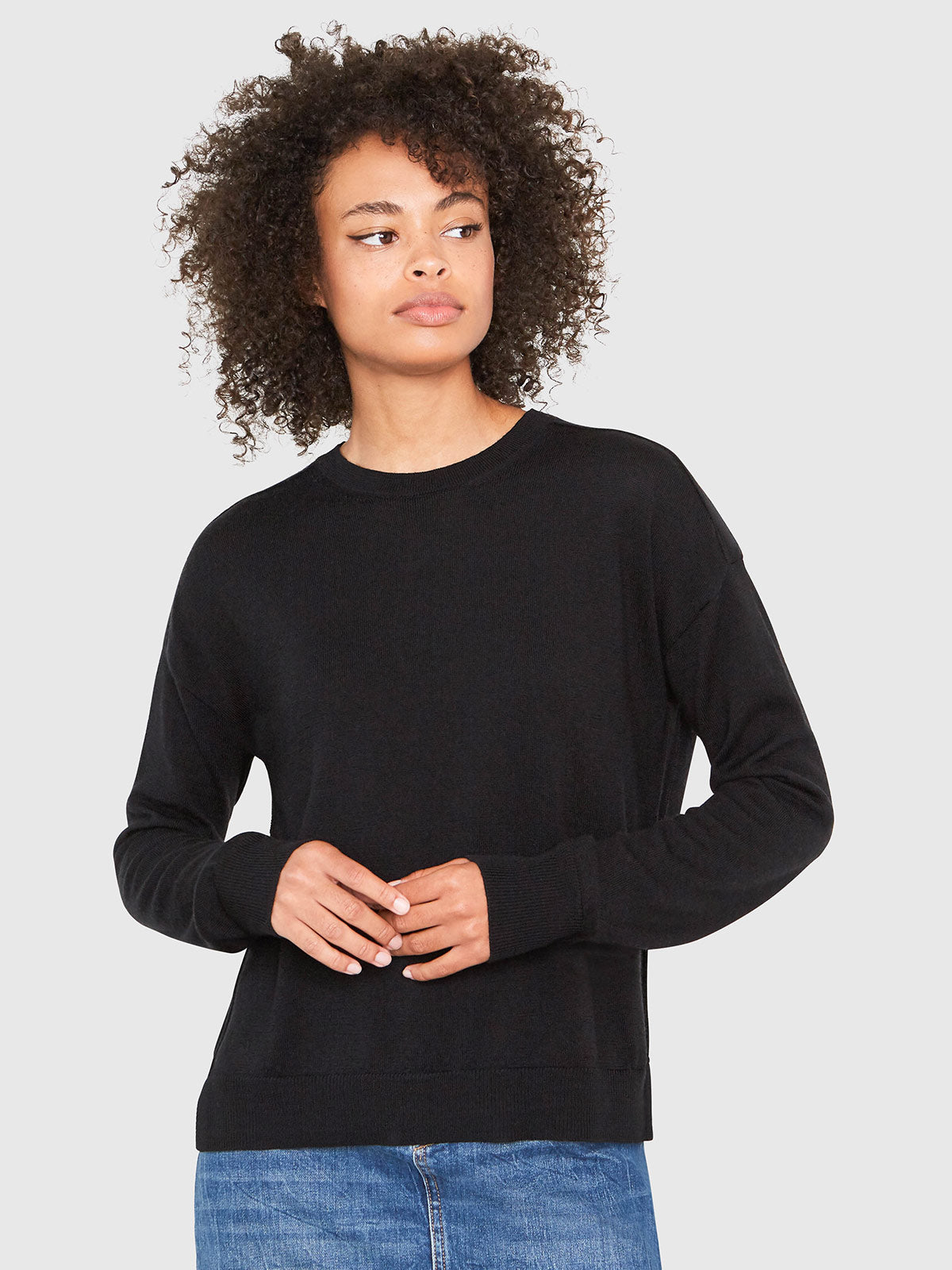 Stella Relaxed-Fit Sweater | Black