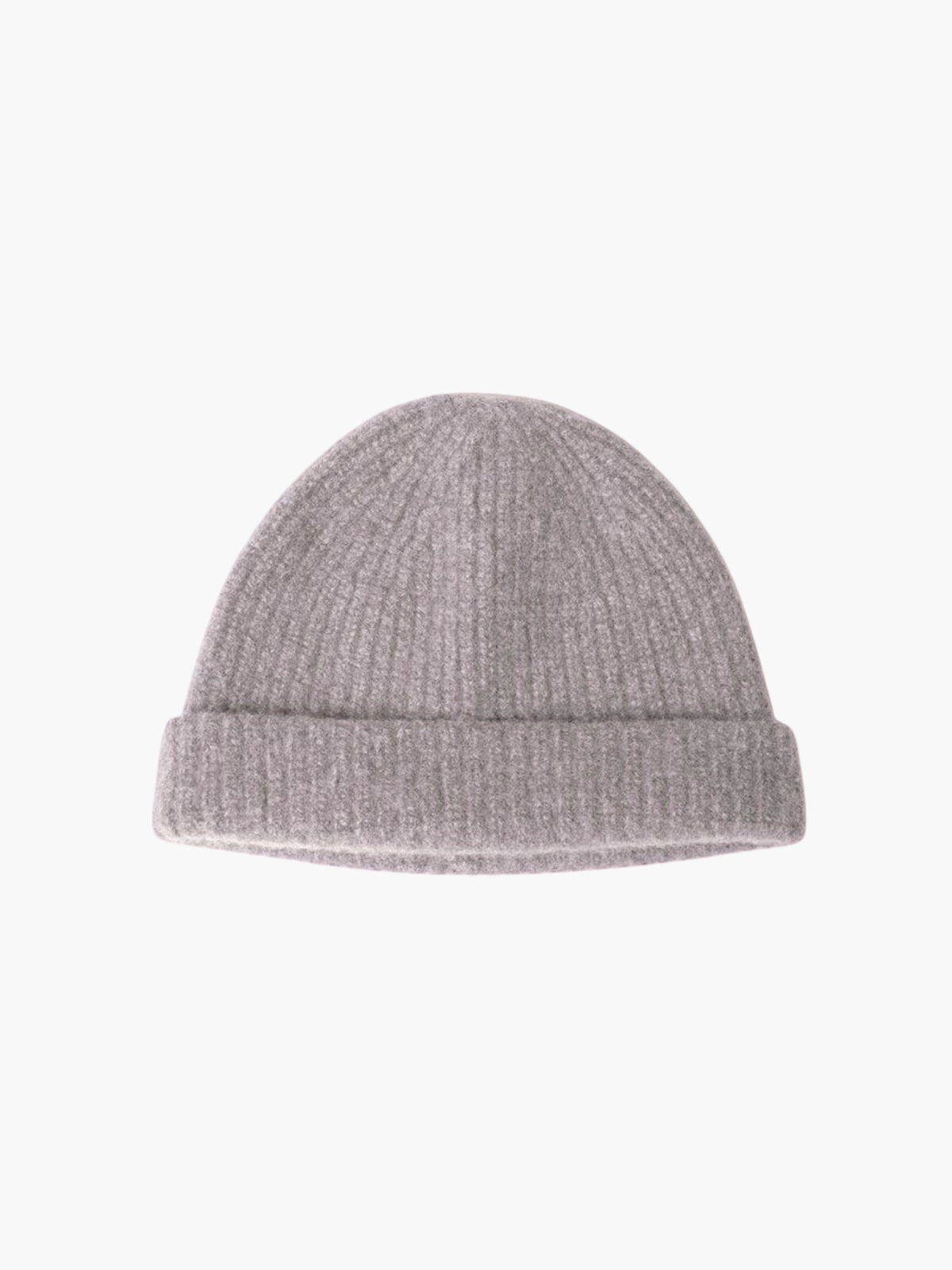 Tobe Ribbed Pure Cashmere Hat | Pink Marble