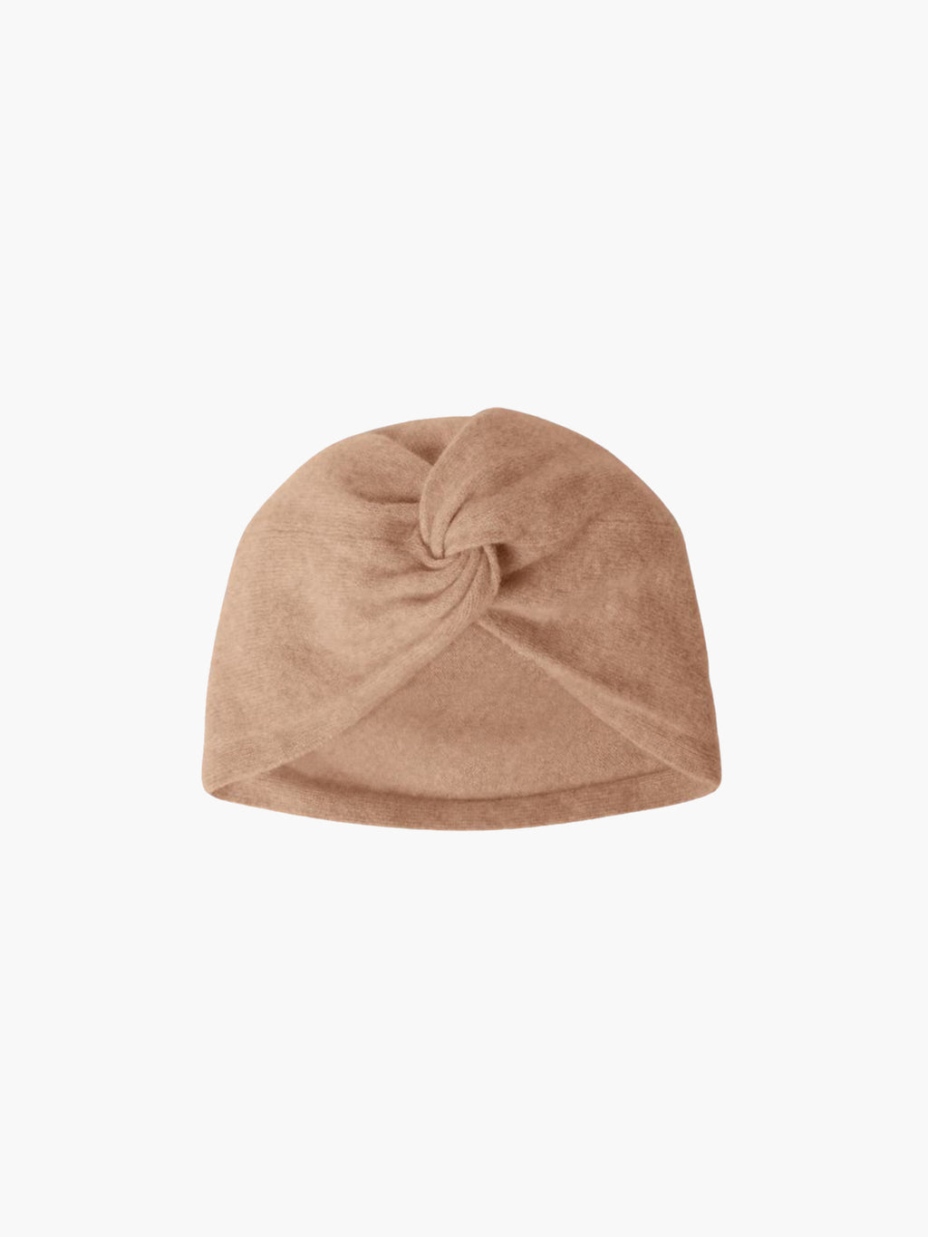 Stacy Cashmere Turban Hat | Caramel