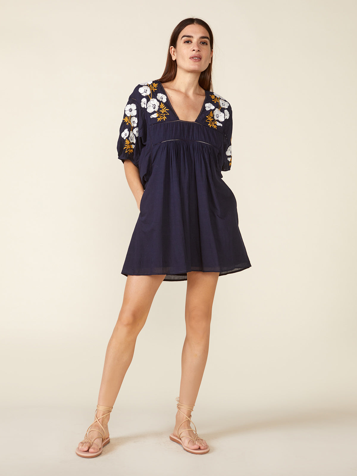 Lake Mini Dress | Navy