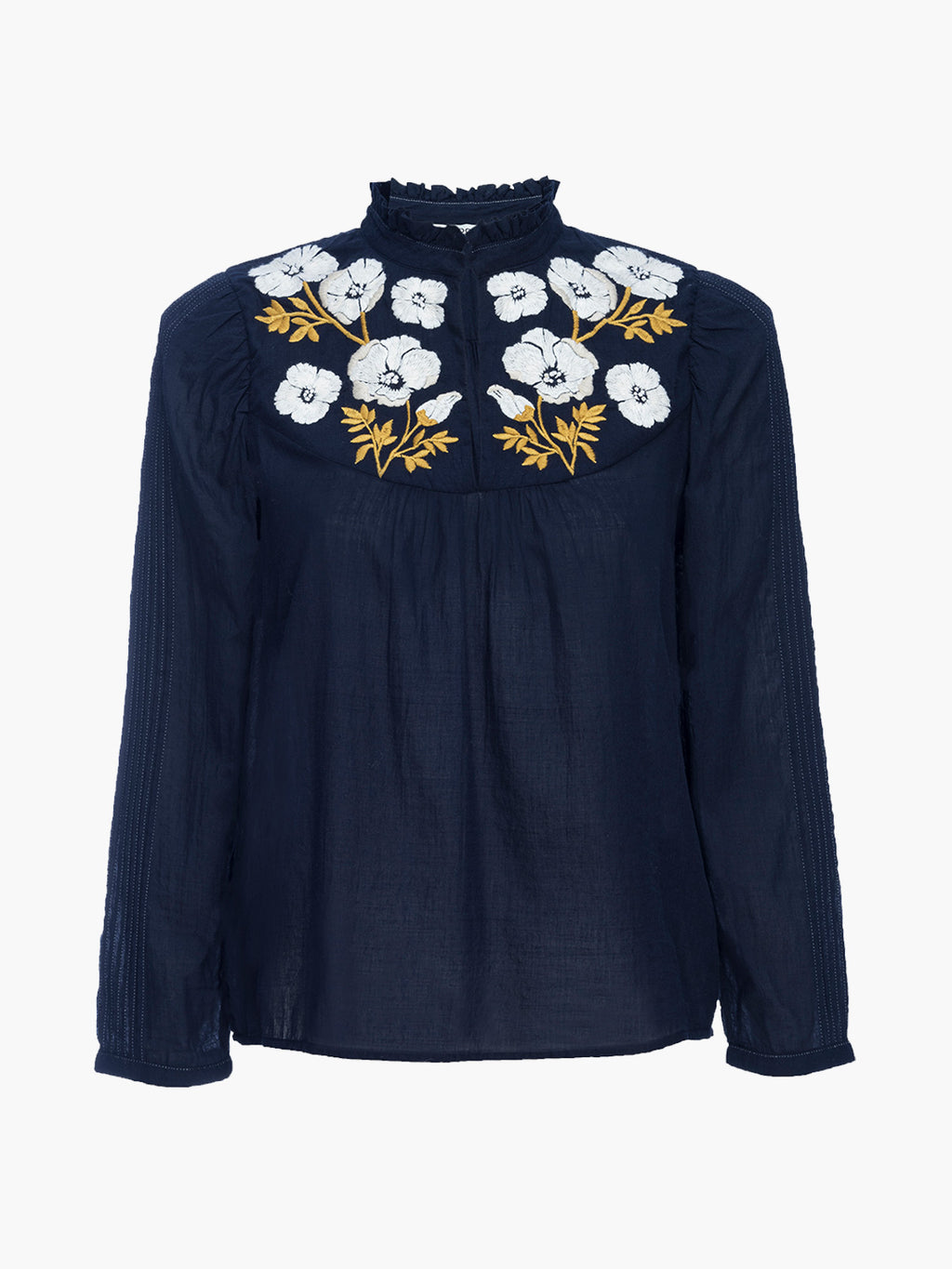 Poppy Top | Navy