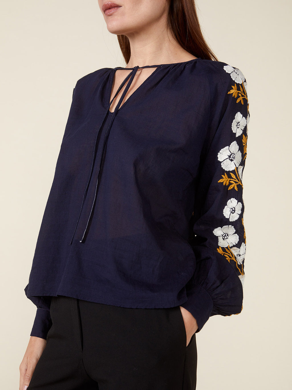 Ruth Top | Navy