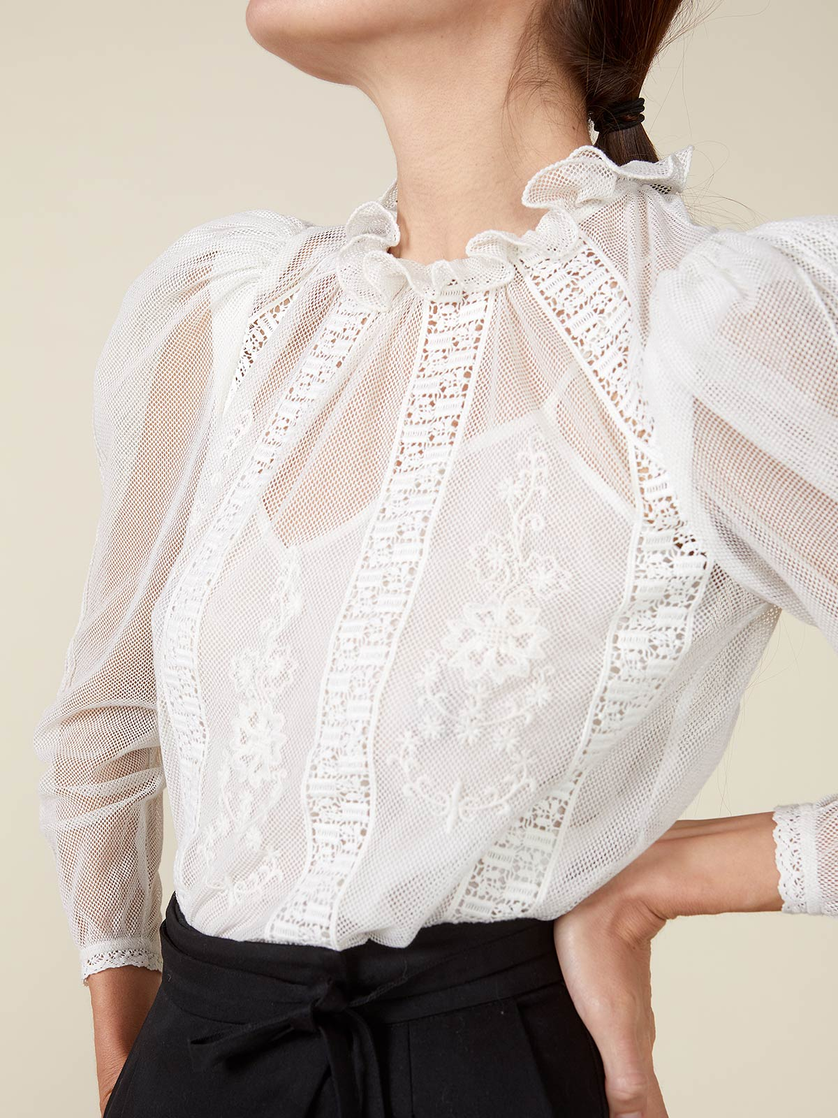 Tomi Top | Ivory