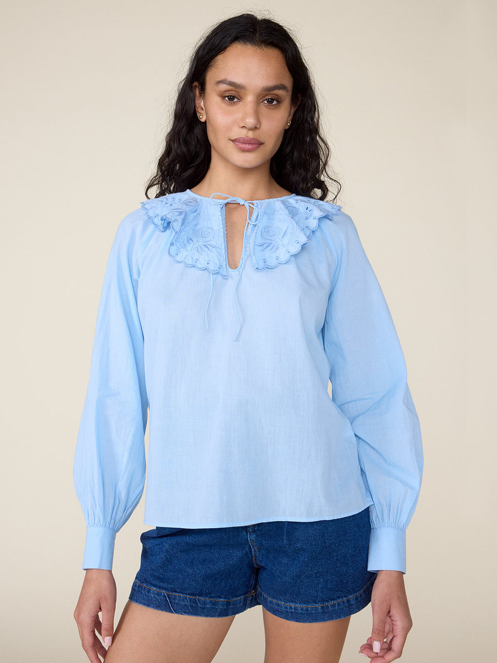 Virginia Top | Cerulean Blue