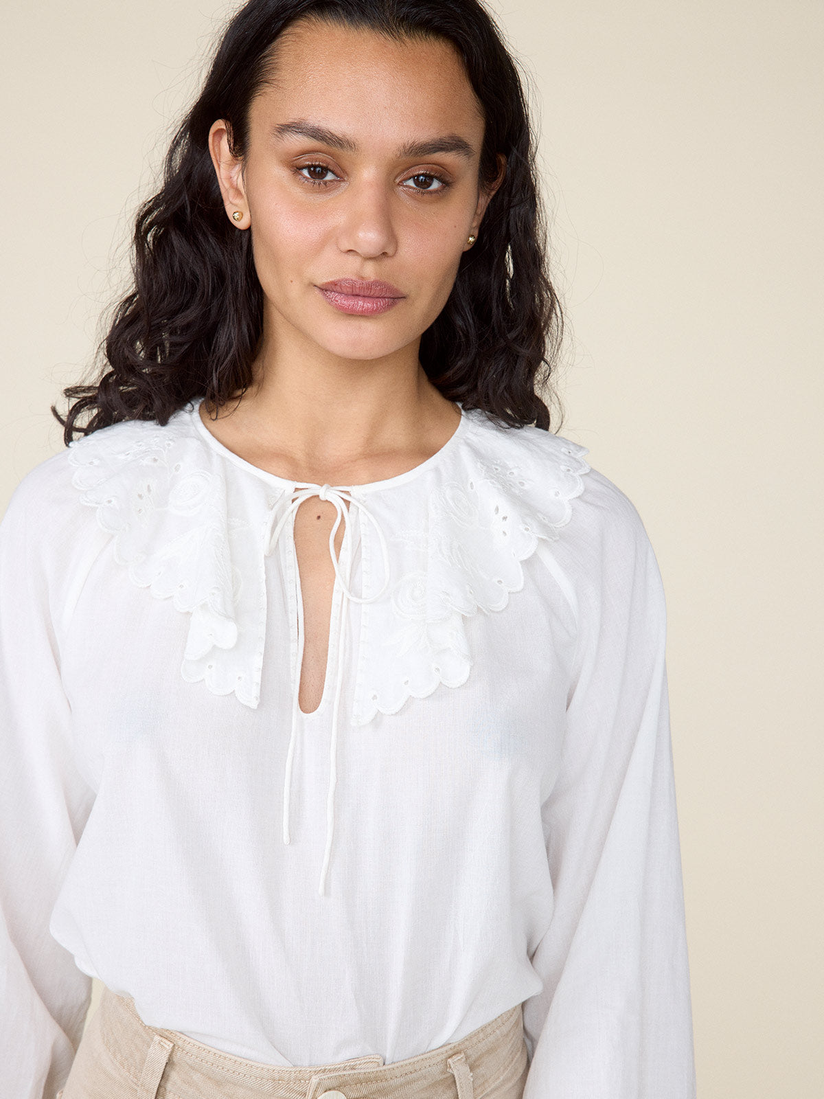 Virginia Top | White