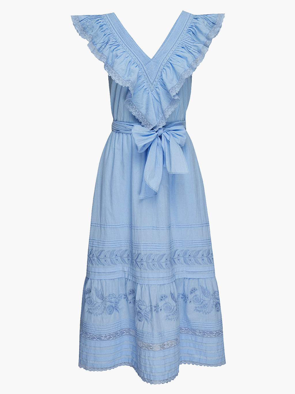 Wonderland Dress | Cerulean Blue
