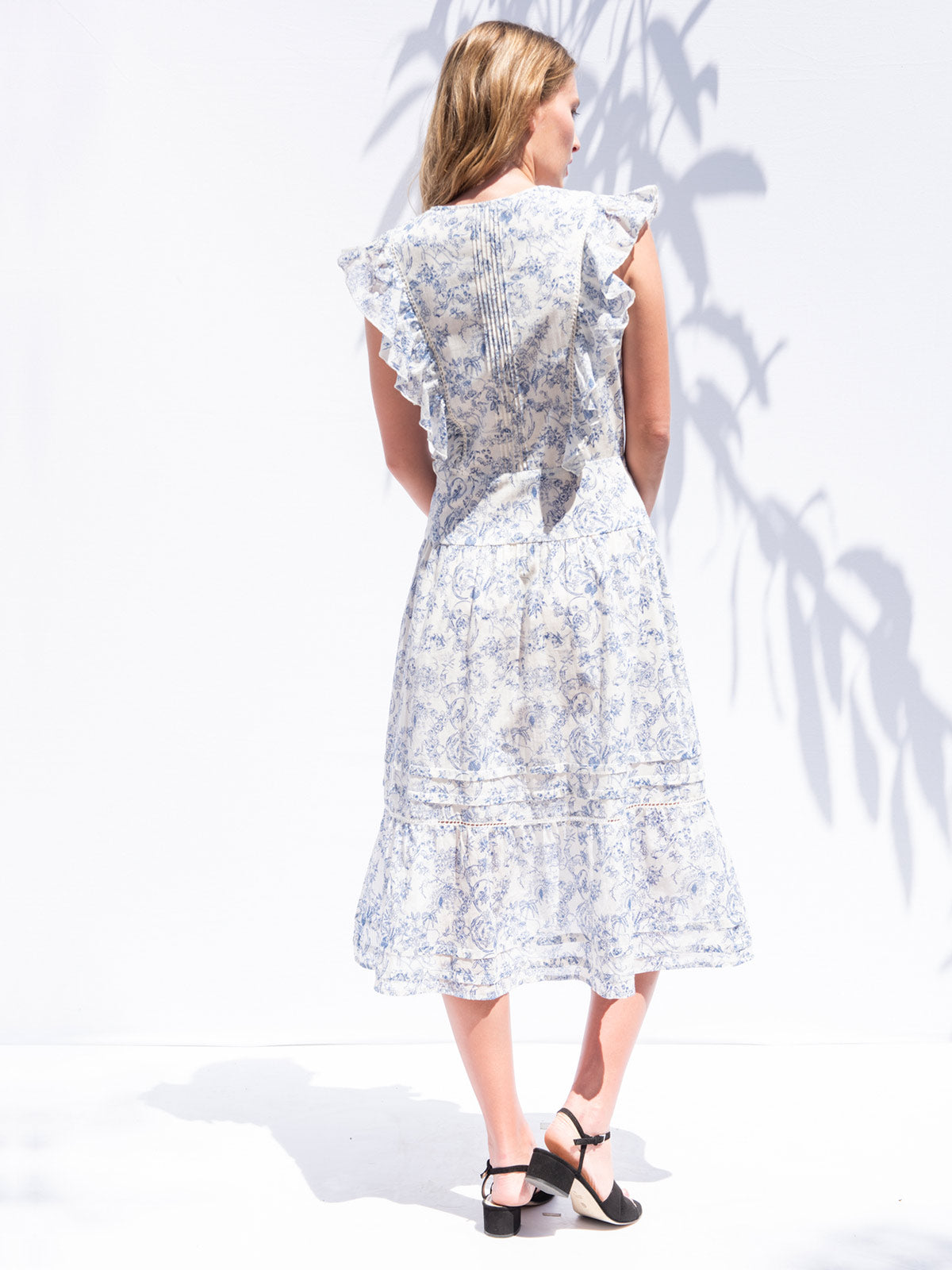 Chanterelle Dress | Delft Blue Chanterelle Dress | Delft Blue