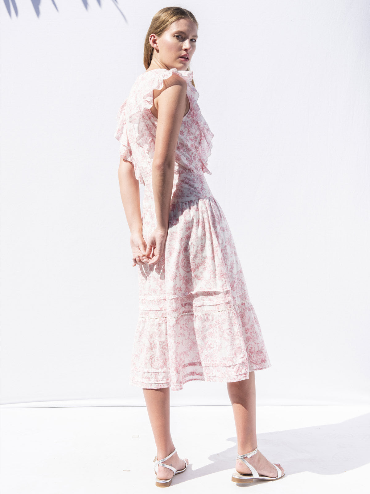 Chanterelle Dress | Jaipur Pink