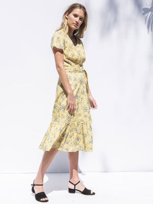 Confetti Dress Daisy Yellow Confetti Dress Daisy Yellow
