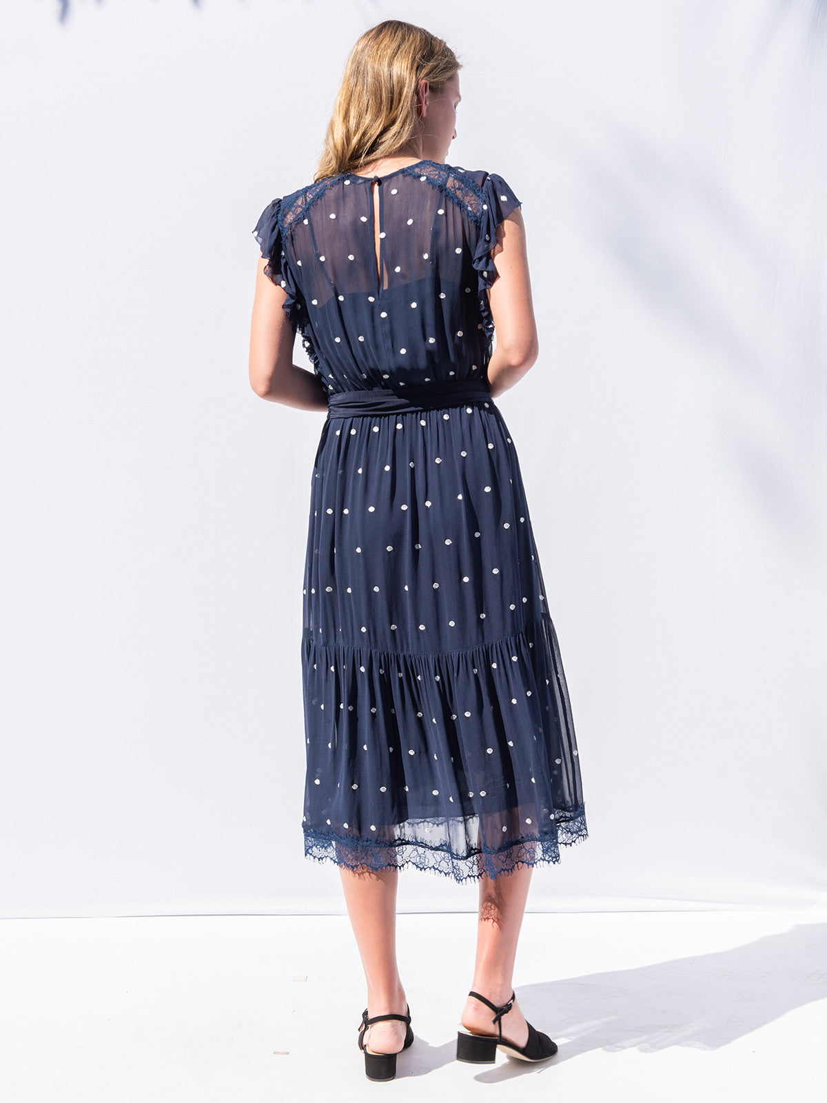 Sheridan Dress | Navy Sheridan Dress | Navy