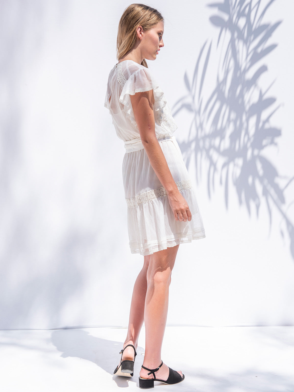 Sheridan Mini Dress | Ivory Sheridan Mini Dress | Ivory