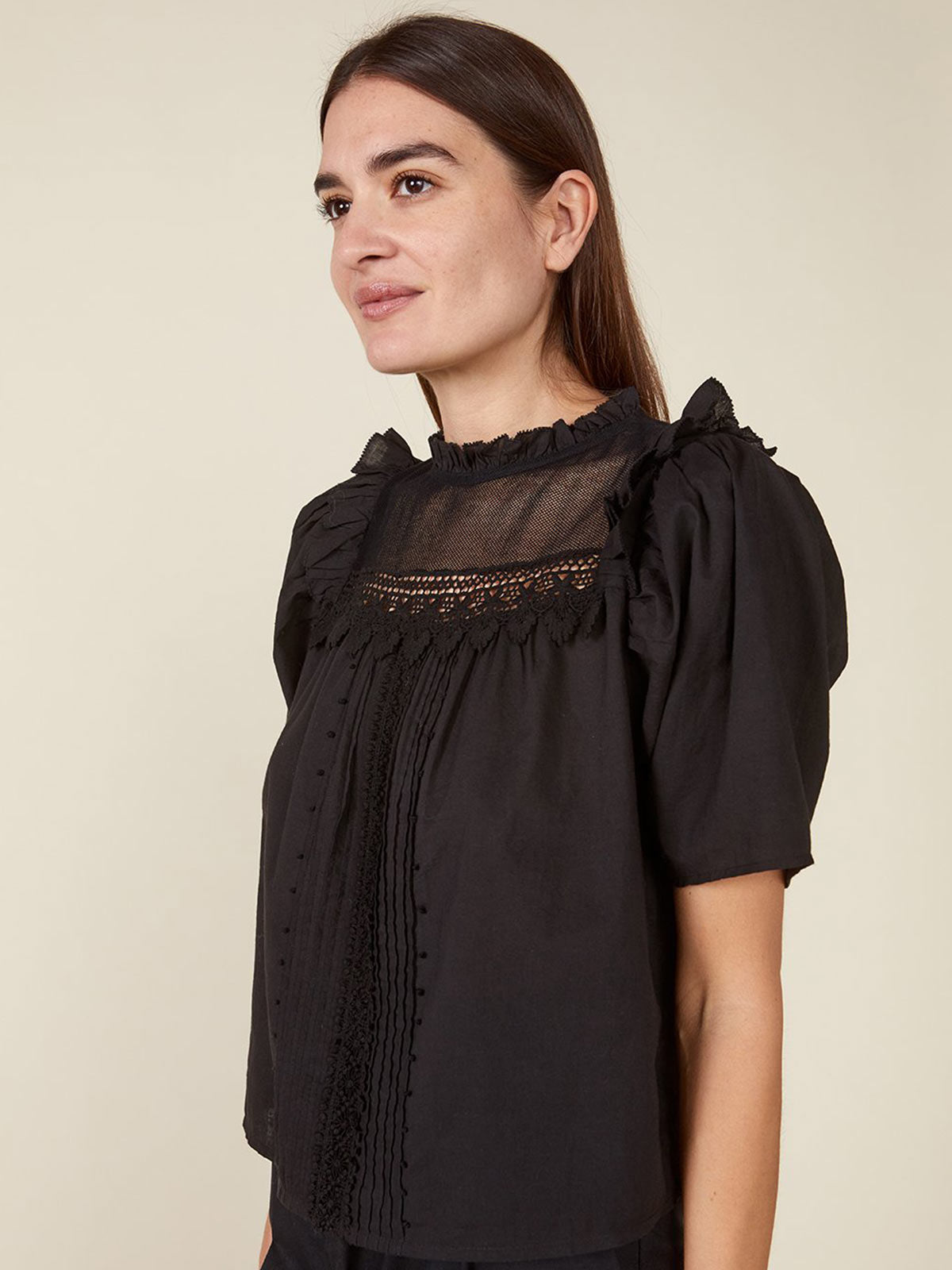 Maisie Top | Black