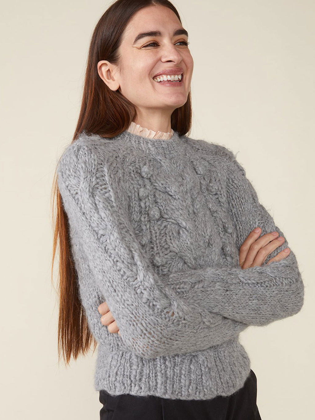 Ossie Sweater | Heather Gray