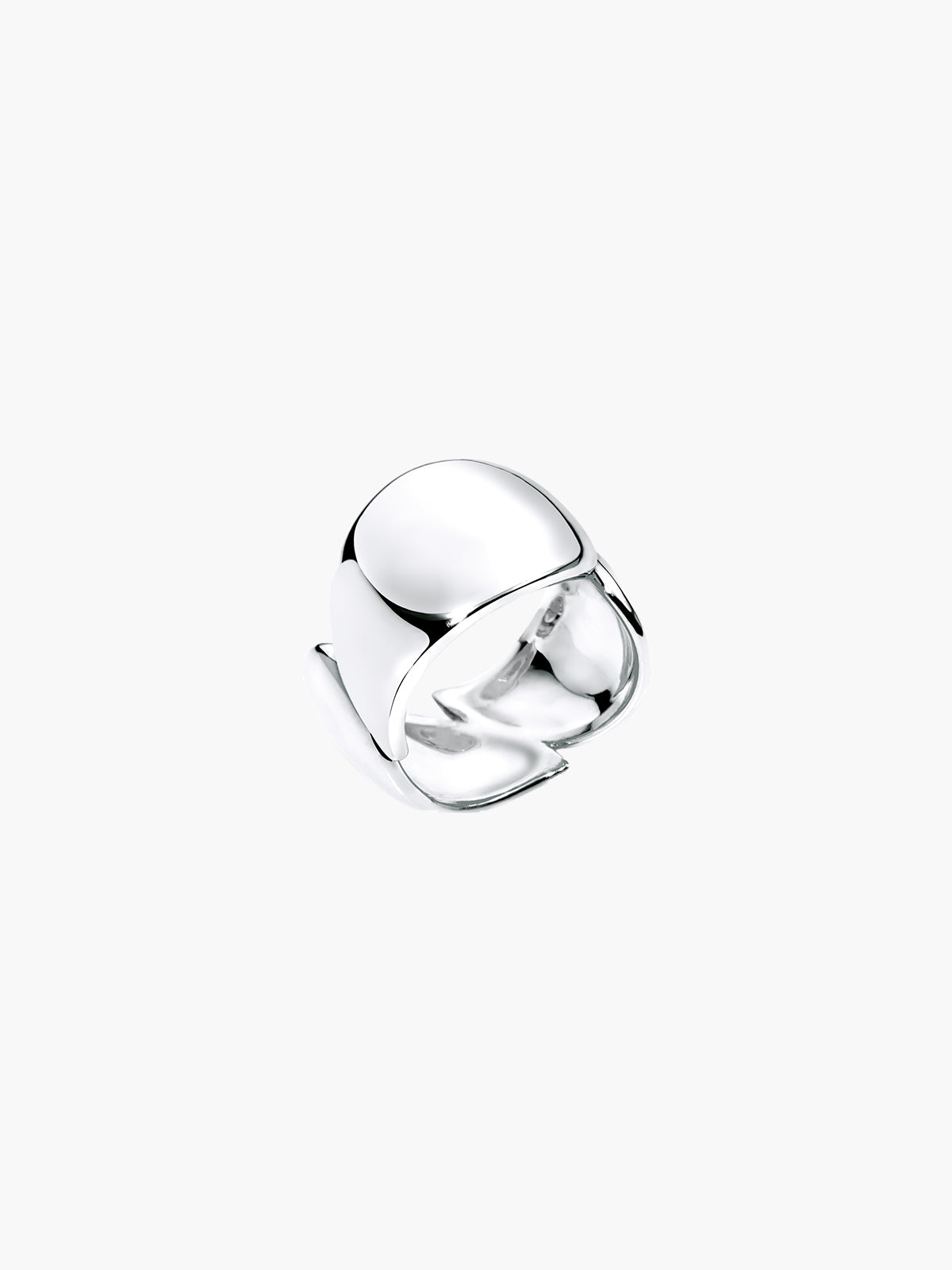 Signature Wave Ring | White Gold
