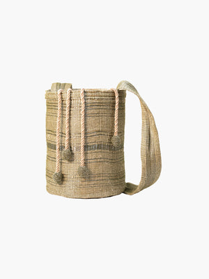 Bucket Bag | Olive & Stainless Bucket Bag | Olive & Stainless