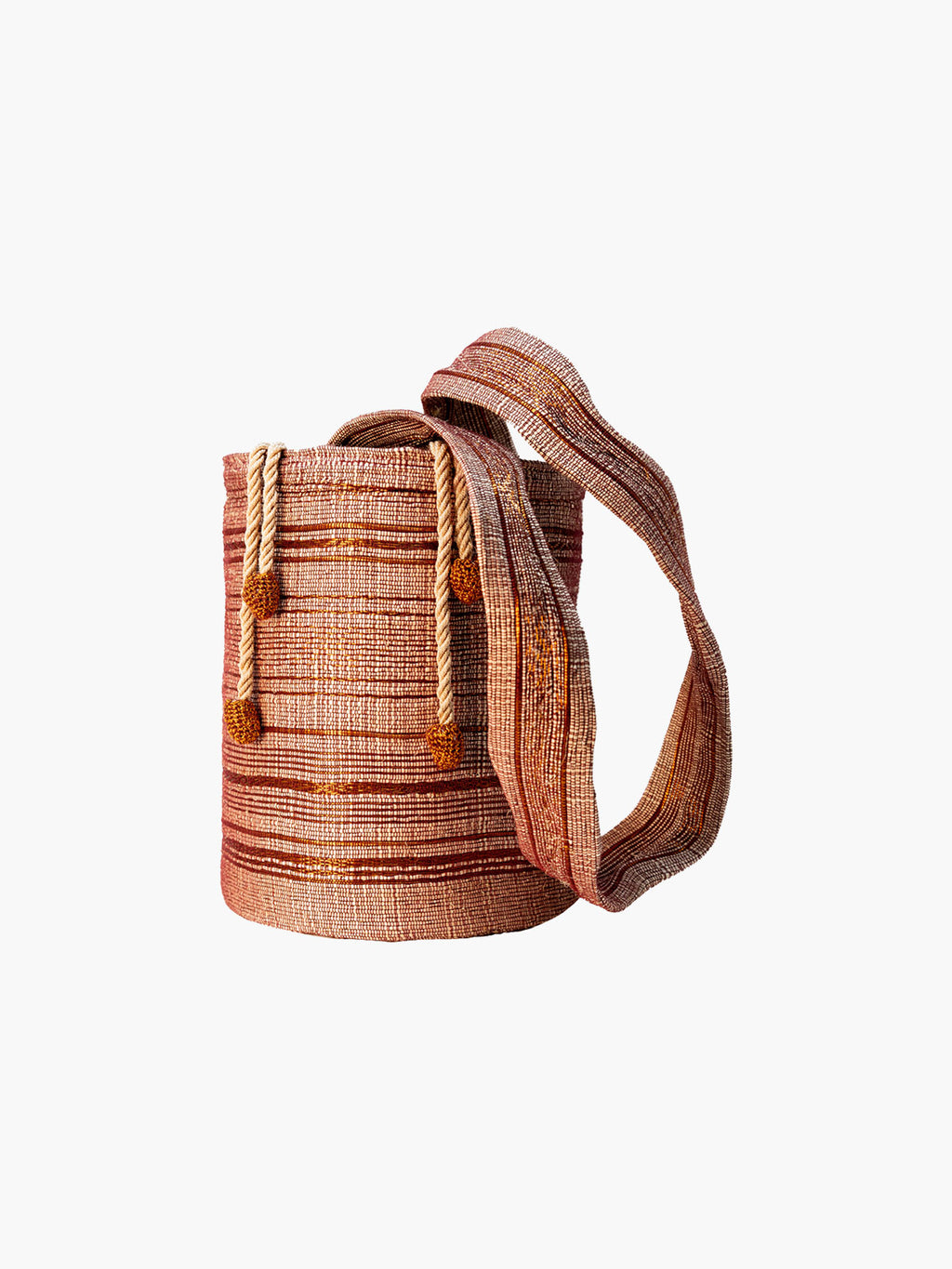 Bucket Bag | Wine & Copper