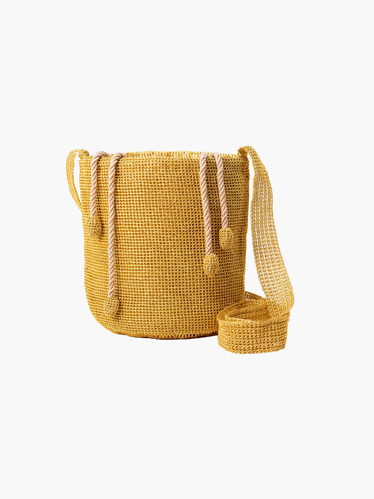 Traditional Weave Mochila | Gold