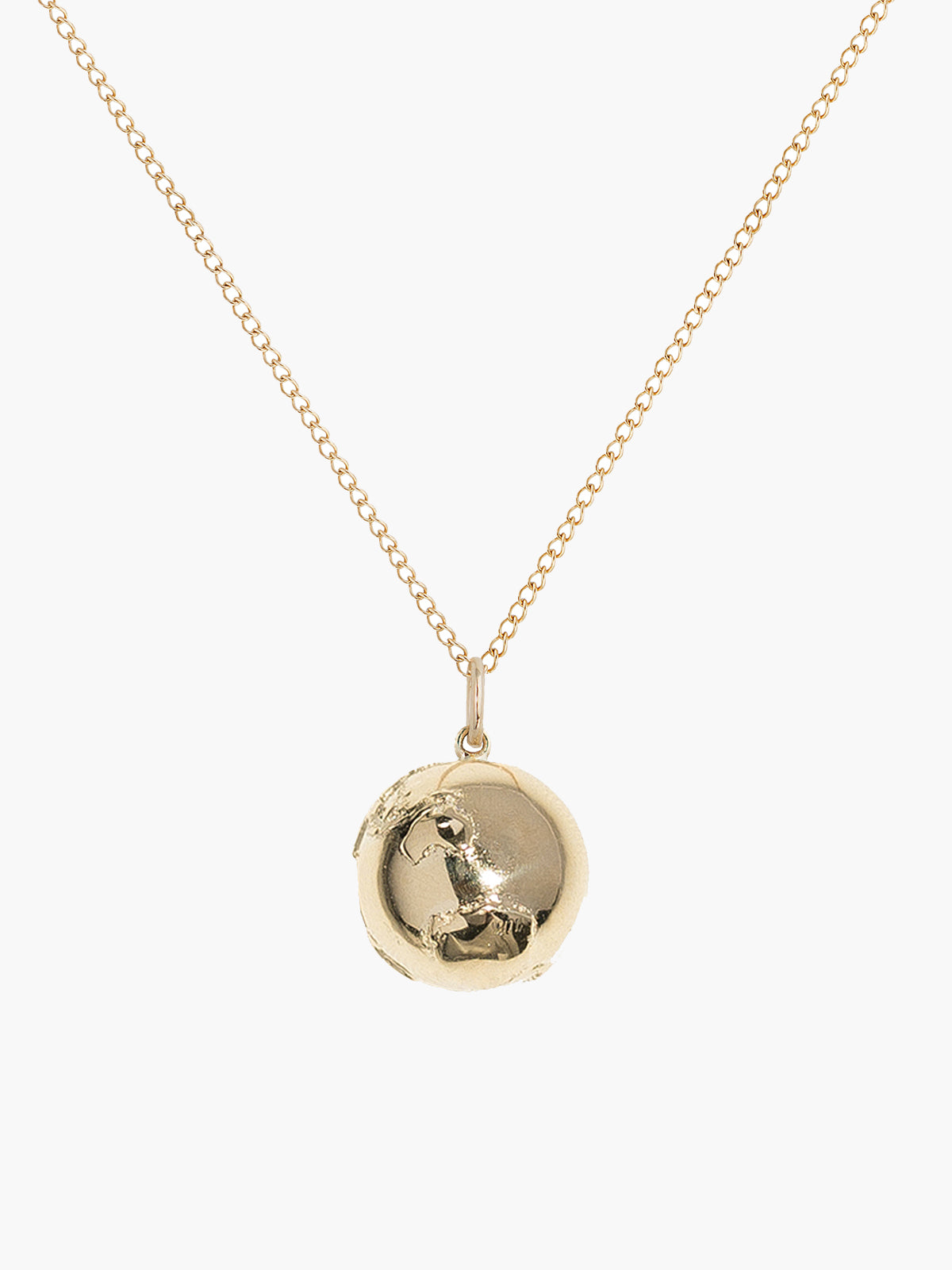 Large Golden Atlas Necklace