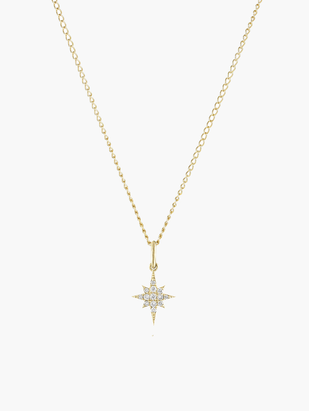 Mini Stella Charm | Yellow Gold