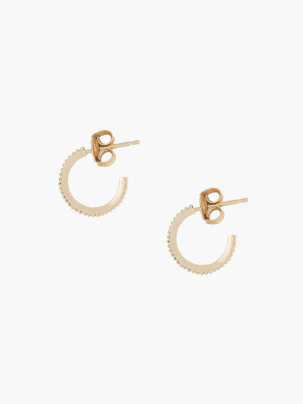Mini Dotted Hoops