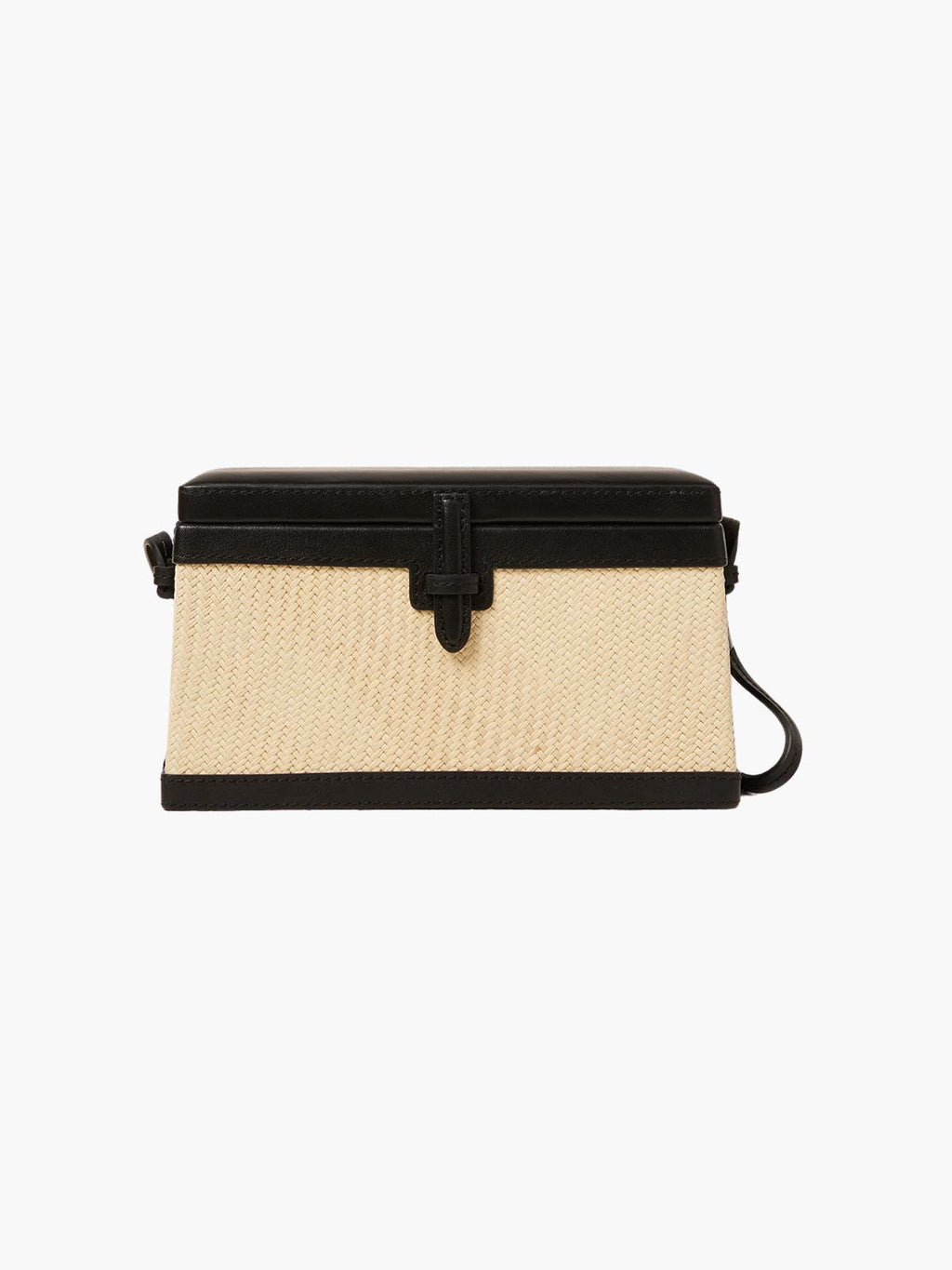 Square Trunk Bag | Black Iraca