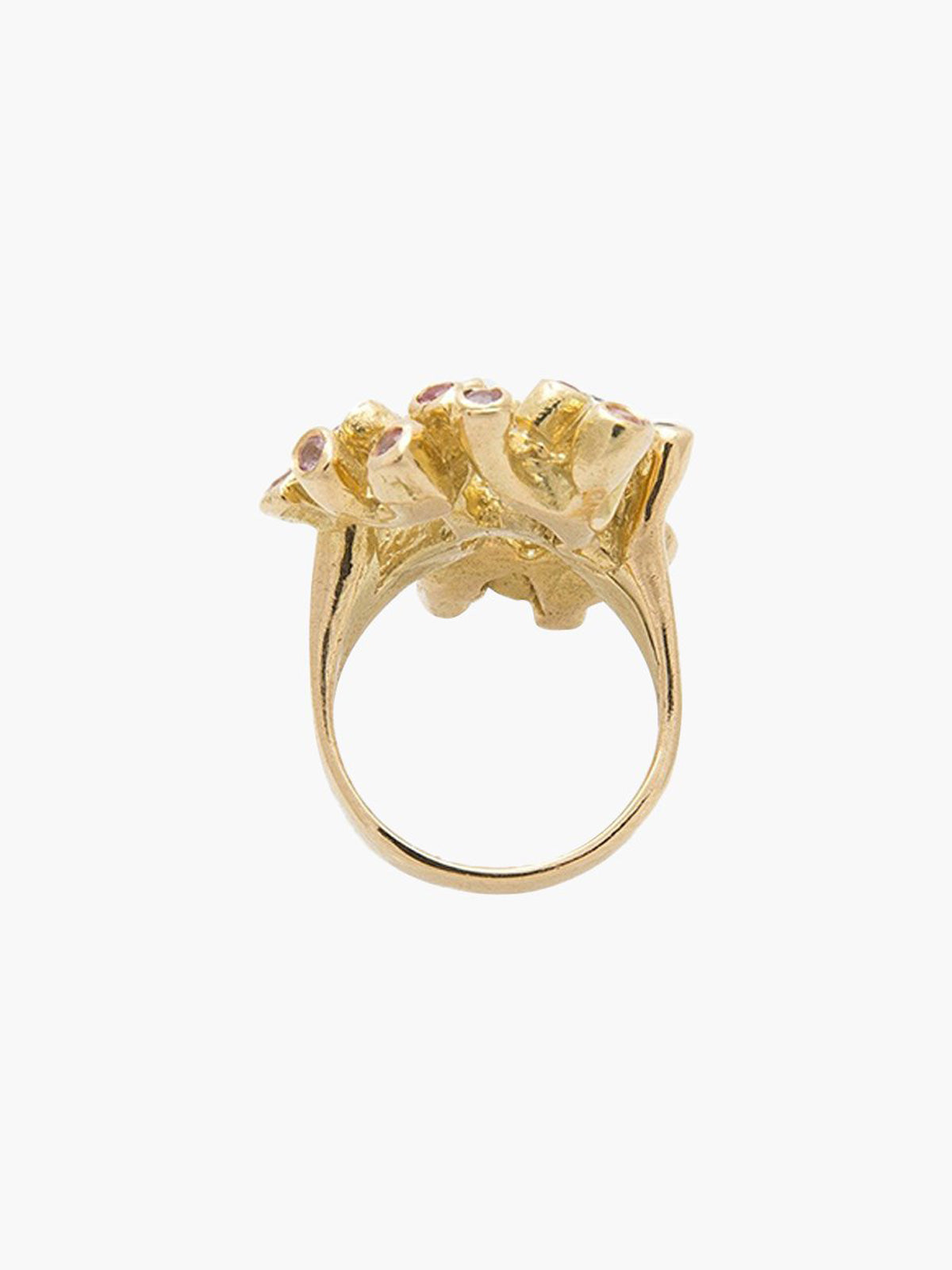 Large Sea Anemone Ring Large Sea Anemone Ring