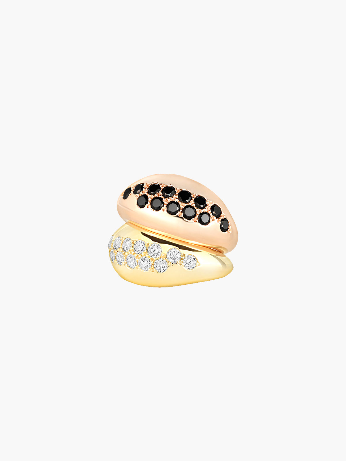 Sumerian Pinky Ring | Black Diamond Sumerian Pinky Ring | Black Diamond