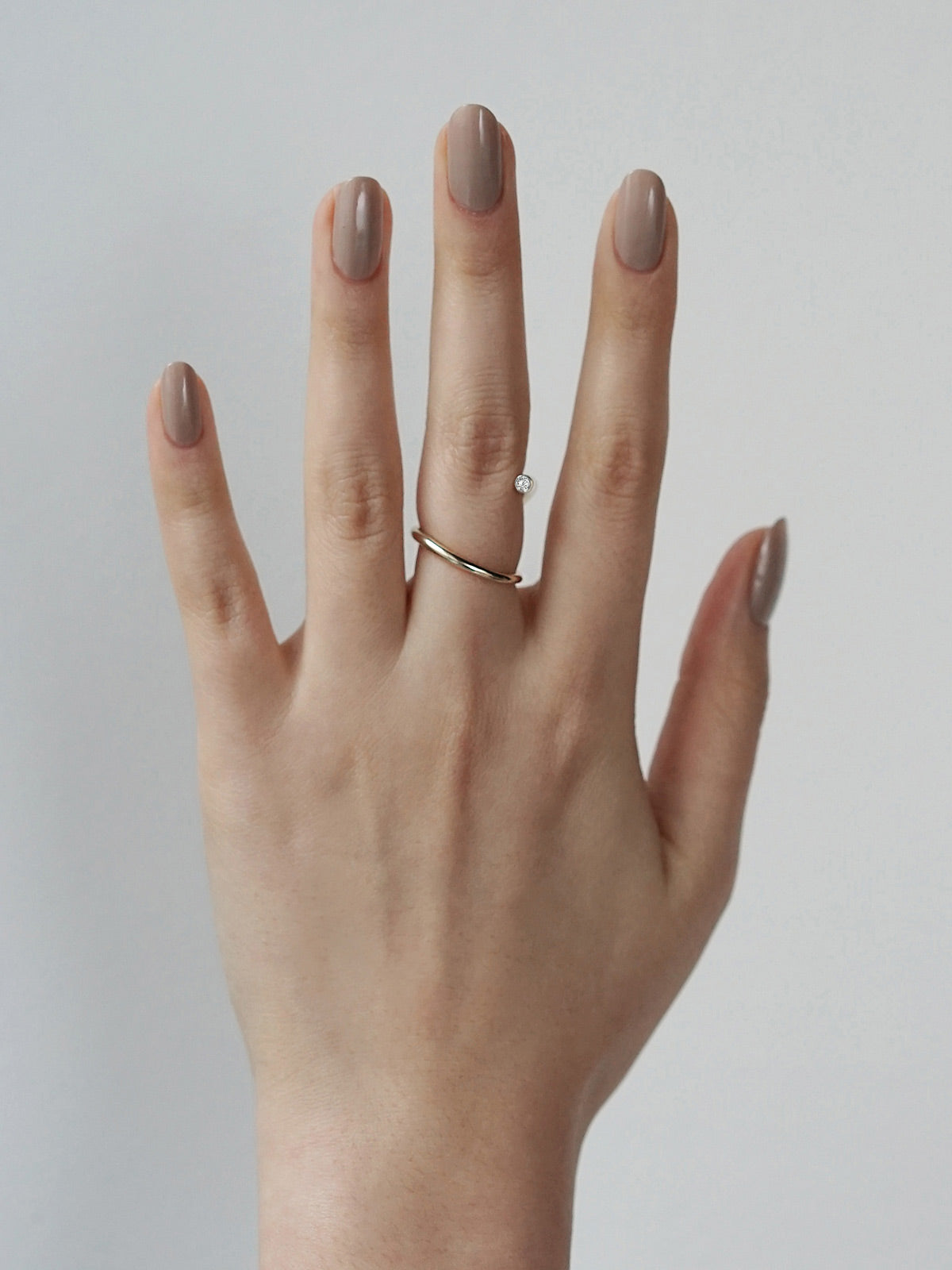 Crescendo Flare Ring | 18K Yellow Gold