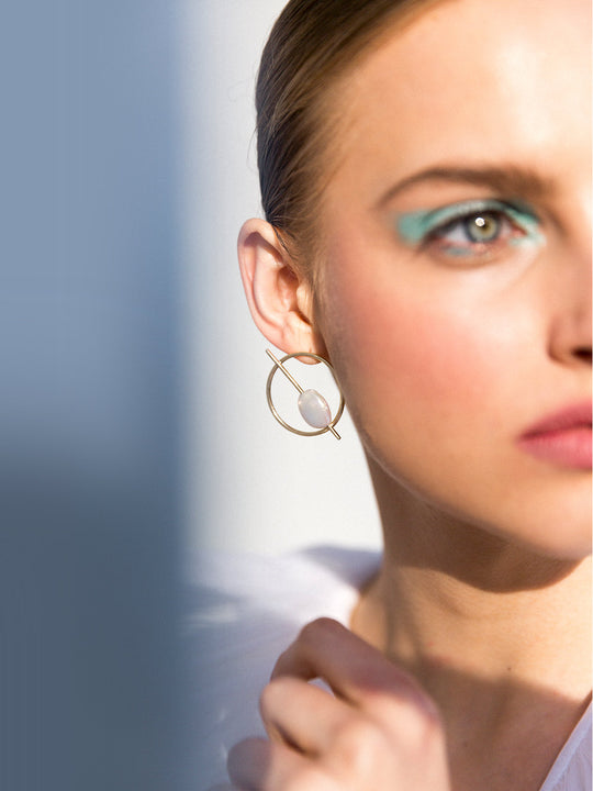 Exclusive Aquilo Pearl Earrings