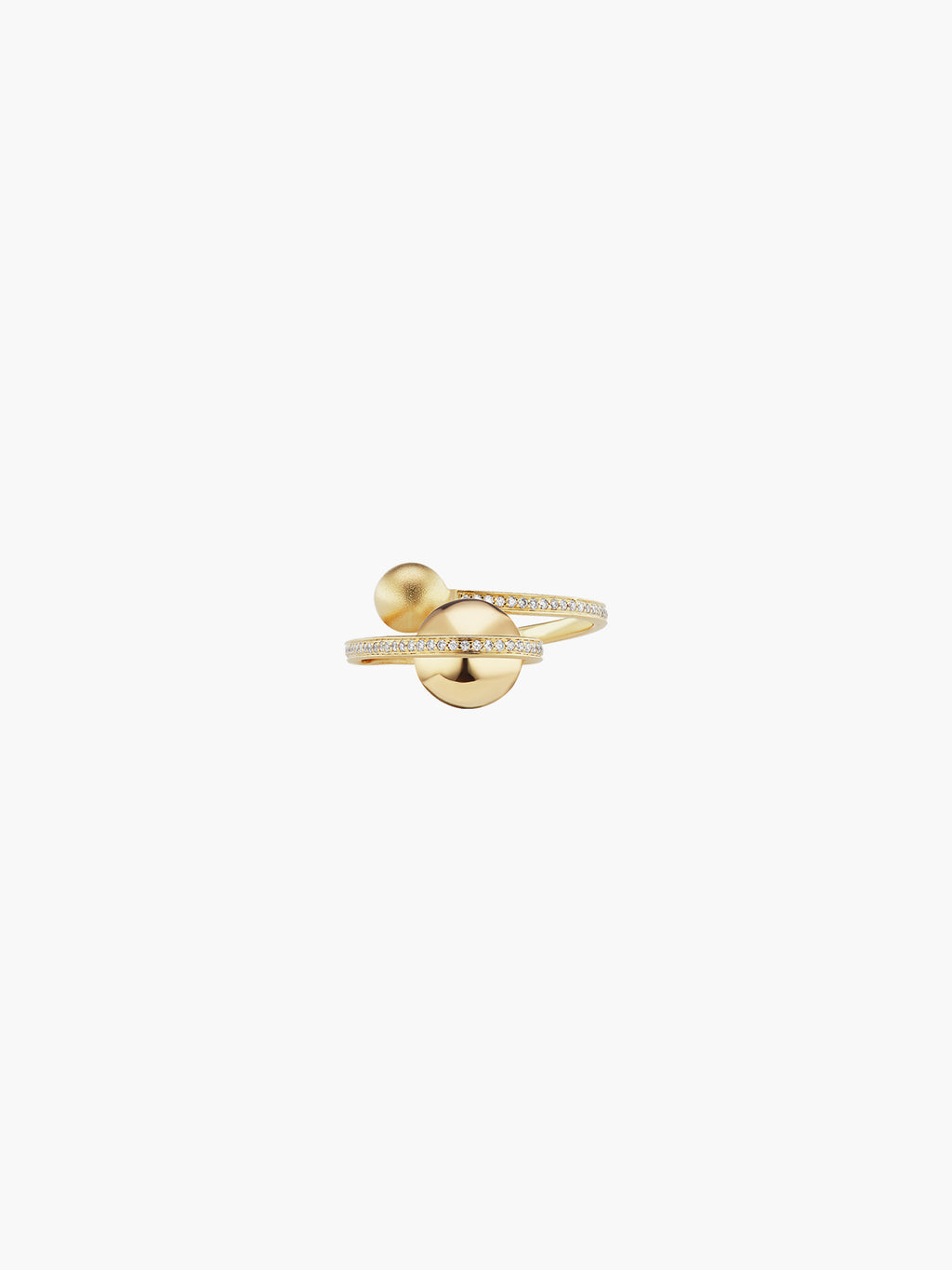 Boule D'Or Lariat Ring | High Polish