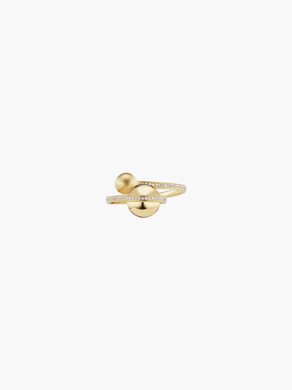 Boule D'Or Lariat Ring | High Polish Boule D'Or Lariat Ring | High Polish