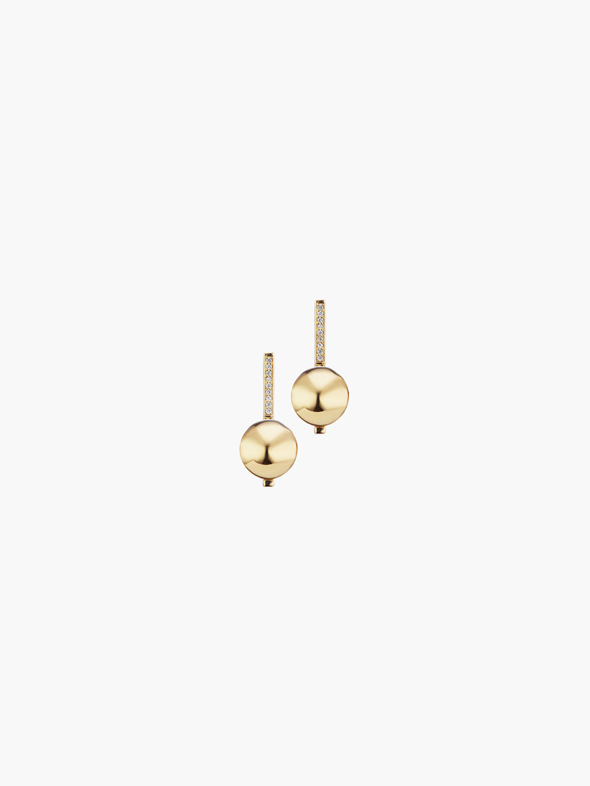 Boule D'Or Drop Earring | High Polish Boule D'Or Drop Earring | High Polish