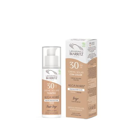 Crema Facial Color Beige SPF 30 Alga Maris