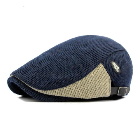 Mens Hats - Fibonacci Patchwork Newsboy