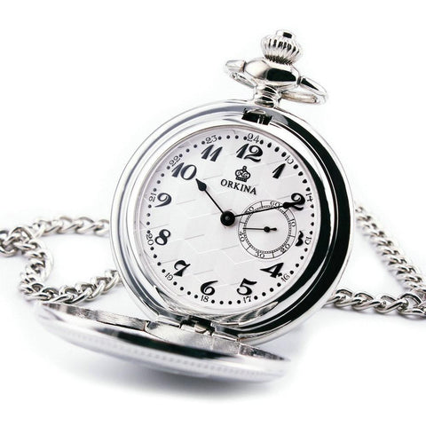 Chronograph Sub-dial Pocket Watch