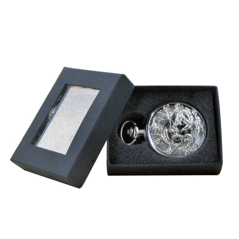 Dragon and Phoenix Pocket Watch With Gift Box