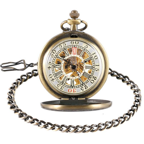 Pocket Watch - Retro Mechanical Pocket Watch