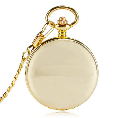 Smooth Mechanical Pocket Watch