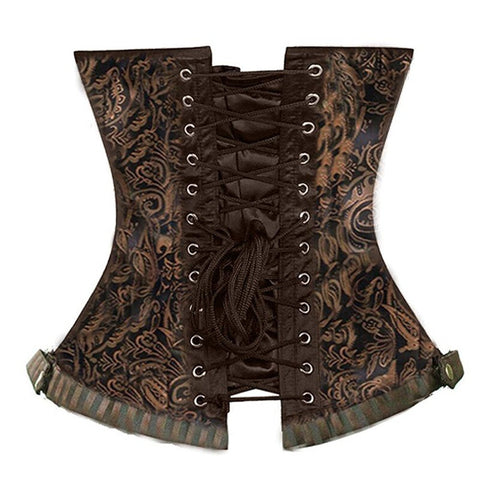Abstract Plus Size Waist Shaping Corselet