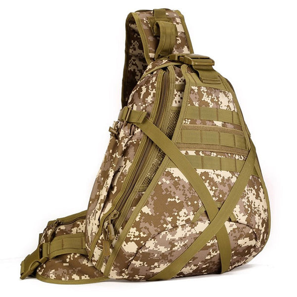 1000D Nylon Military Travel Sling Bag