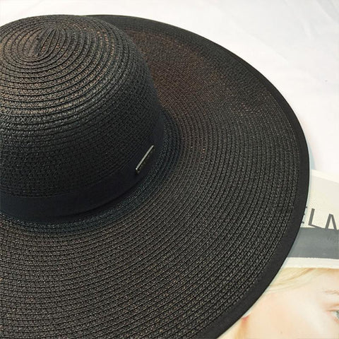 Floppy Foldable Straw Hat
