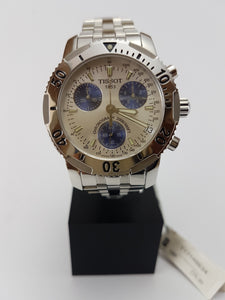 Tissot Chronograph watch with date