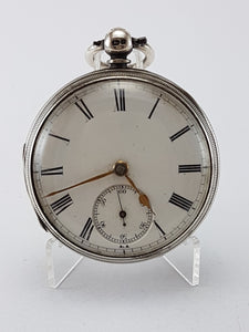 Antique Key Wound Pocket Watch