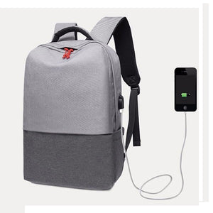 Flat Colour Smart Student Backpack