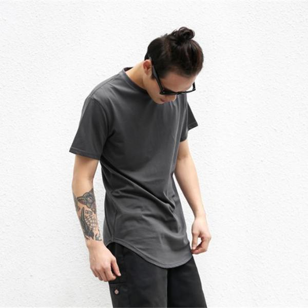 Curved T-shirt