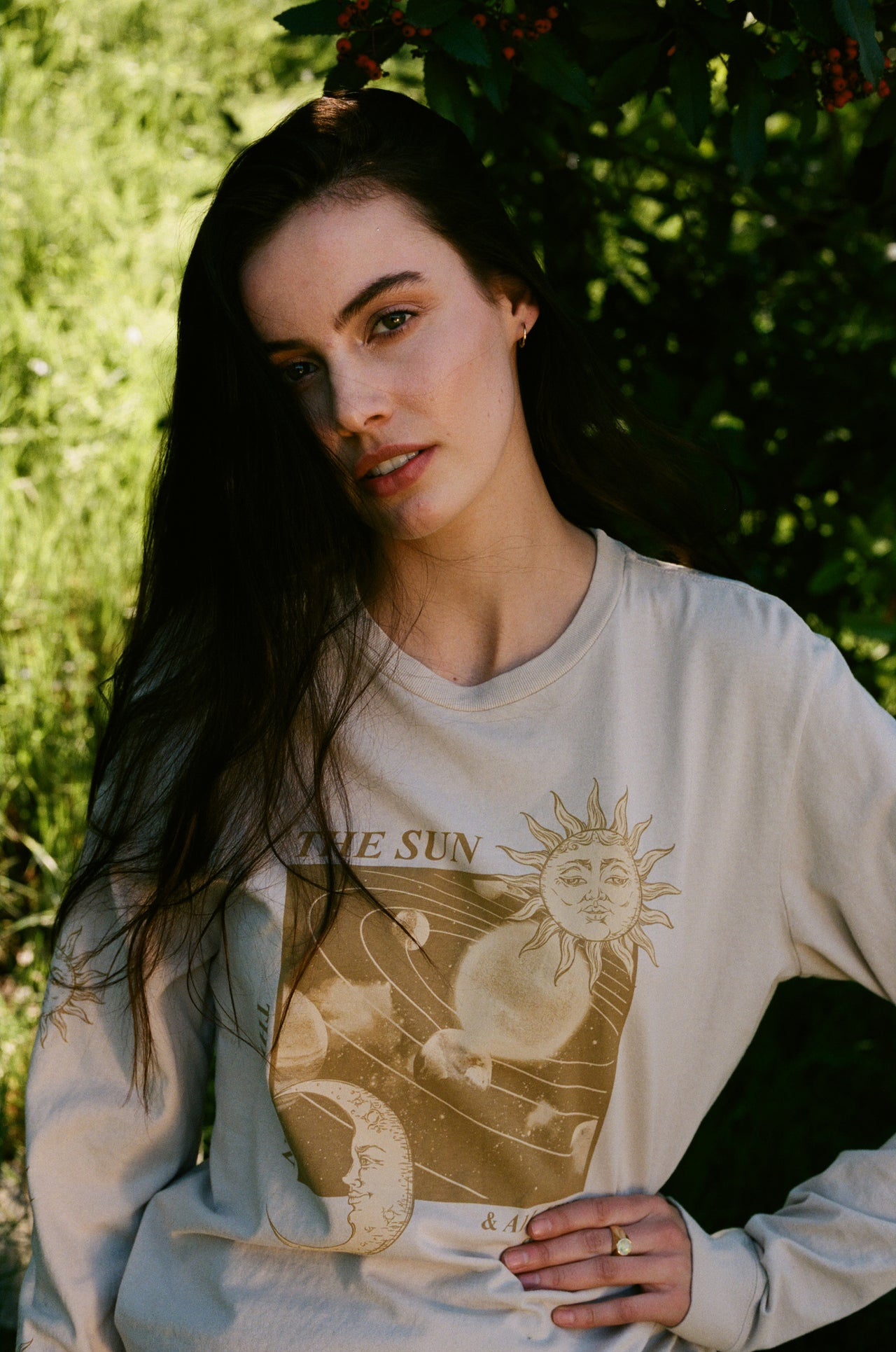 Sun and Stars Long Sleeve Tee - Desert Dreamer